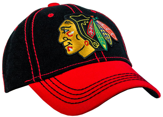 Бейсболка ATRIBUTIKA & CLUB NHL Chicago Blackhawks 29002