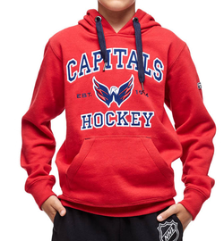 Толстовка ATRIBUTIKA & CLUB NHL Washington Capitals Jr 35740
