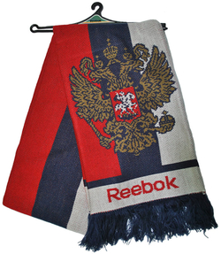 Шарф REEBOK Team Knit Scarf Russia
