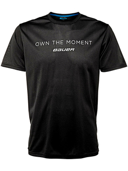 Футболка BAUER Own The Moment SS Tee