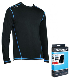 Комбинезон верх Bauer Basics LS Top YTH детский