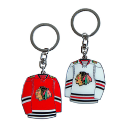 Брелок ATRIBUTIKA & CLUB NHL Chicago Balckhawks 55008