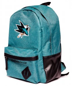 Рюкзак спортивный ATRIBUTIKA & CLUB NHL San Jose Sharks 58061