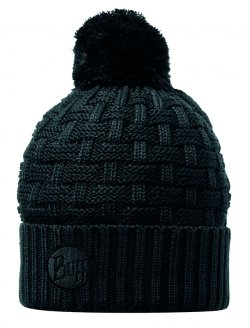 Шапка BUFF KNITTED&POLAR HAT BUFF AIRON BLACK