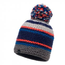 Шапка BUFF KNITTED&POLAR HAT DORIAN BLUE INK