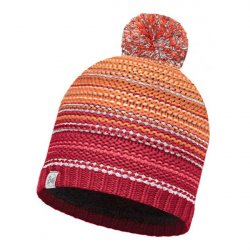 Шапка BUFF KNITTED&POLAR HAT BUFF NEPER RED SAMBA