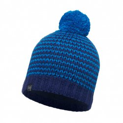 Шапка BUFF KNITTED&POLAR HAT DORN BLUE
