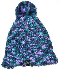 Шапка BUFF KNITTED&POLAR HAT LIVY TURQUOISE