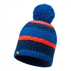 Шапка BUFF KNITTED&POLAR HAT FIZZ BLUE SKYDIVER