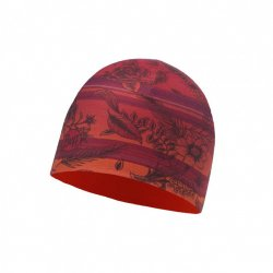 Шапка BUFF Microfiber Reversible Hat Bess Wine Terracotta