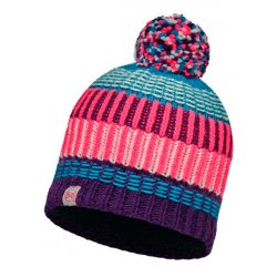 Шапка BUFF Junior Knitted&Polar Hat Buff Hops Plum