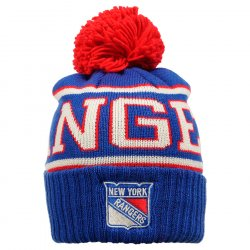 Шапка REEBOK Wool BI Cuffed Pom New York Rangers