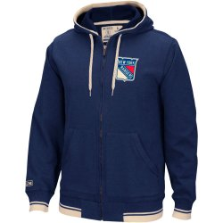 Толстовка CCM Full Zip Hood New York Rangers