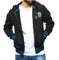 Толстовка ATRIBUTIKA & CLUB NHL San Jose Sharks 35970