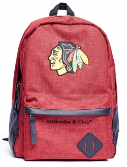 Рюкзак спортивный ATRIBUTIKA & CLUB NHL Chicago Blackhawks 58053